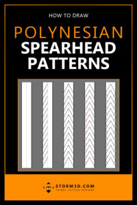how-to-draw-polynesian-spearhead-patterns-for-tattoos