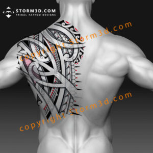 awesome-cool-back-tattoos-for-guys-tribal-patterns-and-drawings-symbolism-shoulderblade