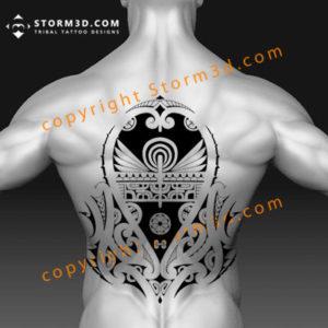 back-tattoo-ideas-for-guys-in-tribal-maori