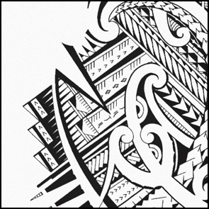 black-and-white-maori-wall-art-home-decoration-tribal-tattoos