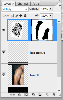 brush-the-layer-mask-to-hide-parts-of-the-tattoo-design-in-photoshop