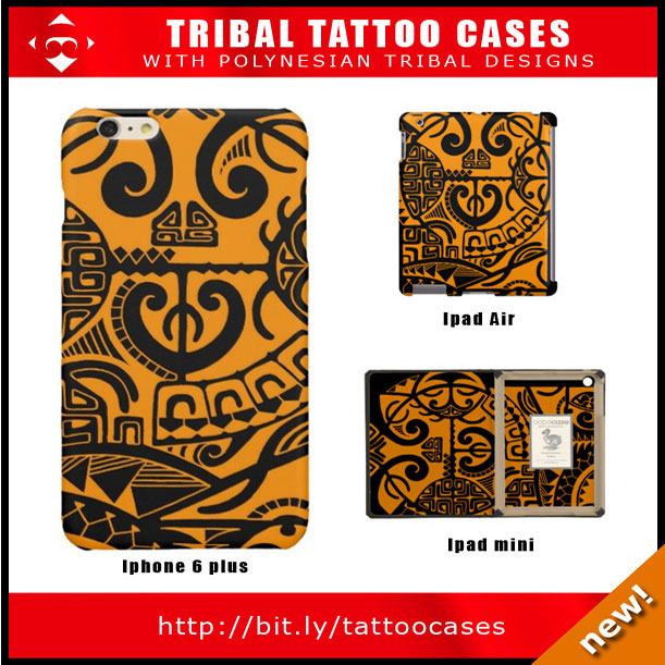 ipad-design-with-tribal-polynesian-drawings-and-designs