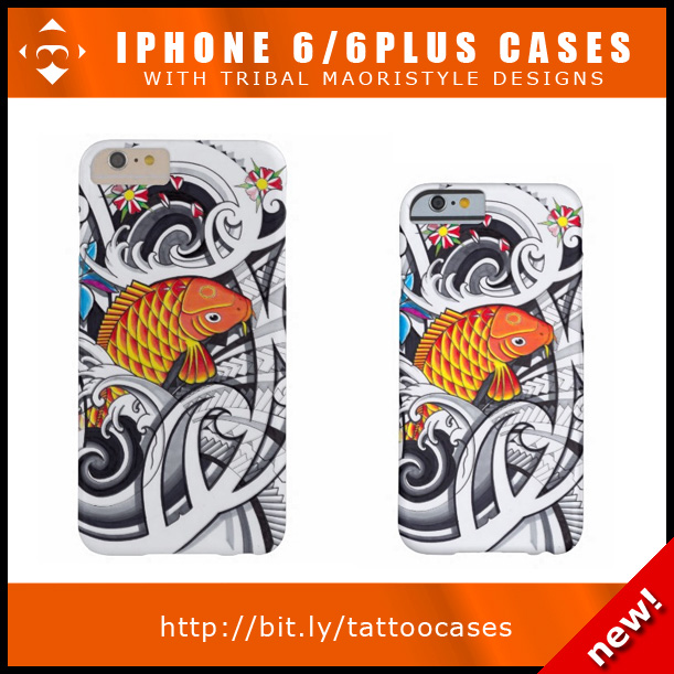 iphone case tribal koifish designs