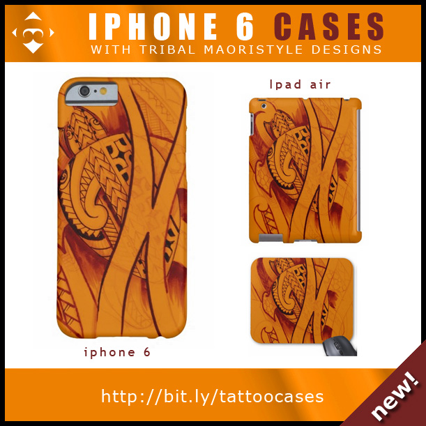 turtle-design-maori-tattoo-cases-phones