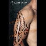 koru-fernleaf-maori-tattoo-design-examples-red-elements-growth-new-beginnings