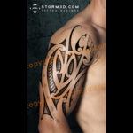 maori-koru-shoulder-tattoo-design-storm3d-art