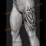 thigh-maori-leg-tattoo-upper