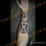 tribal-forearm-design-feathers-inside-flash-sheets