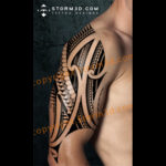 tribal-shoulder-upper-arm-design-in-Polynesian-styles-mockup-photoshop