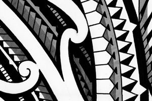 handdrawing-pencil-tattoo-design-polynesia-linedrawings