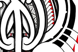 maori stingray mantaray tattoo design. Black Bedroom Furniture Sets. Home Design Ideas