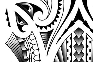 tribal-polynesian-maori-style-tattoo-art