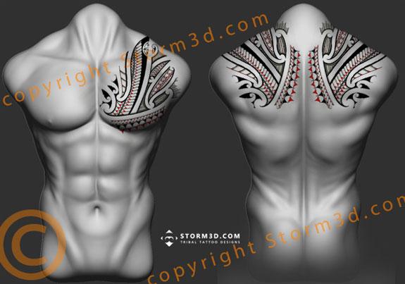 Freehand High Quality Tatoo By Mark Storm, Tribal Tattoo