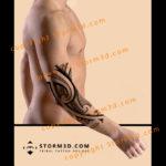 elbow-maori-tribal-tattoo-examples