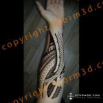 forearm-mixed-tribals-designs-and-drawings