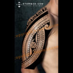 halfsleeve-island-design-polynesia-cook-islands-with-flowing-symbols