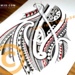 high-quality-tribal-tattoo-design-by-Mark-Storm3d