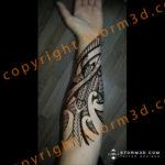 inner-forearm-tribal-turtle-tattoos-examples-mauri