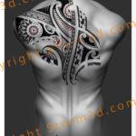 polynesian-upperback-tattoo-design-storm3d-high-quality