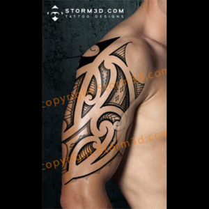 shoulder-tattoo-maori-flash-images-buy