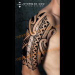 shoulder-tattoo-maori-polynesian-with-symbolism-and-meanings