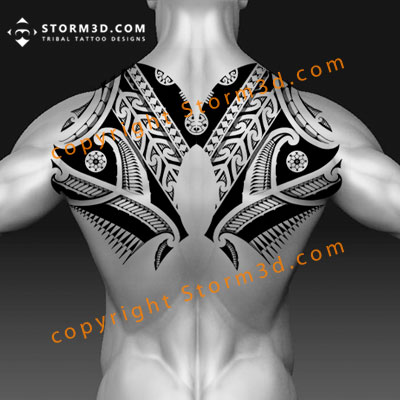 symmetric-upper-back-tattoo-example-drawings