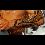 turtle-tattoo-on-forearm-storm3d-maori-tribal-artist