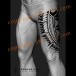 upper-thigh-leg-design-tattoo-image-flash-drawings