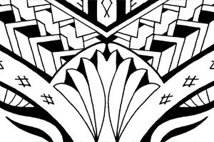 maori-samoan-calf-tattoo-design-flash-for-sale