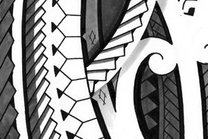 mixed-polynesian-drawings-for-tatoo-shops