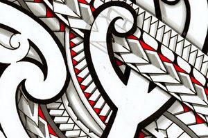 tribal-maori-side-rib-tattoo-stomach-design-drawings