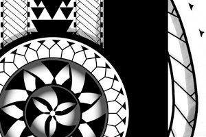 tribal-sun-tattoo-design-polynesia