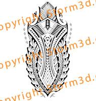 calftattoo-designs-samoa-style-inspired-tribal-maori-polynesia