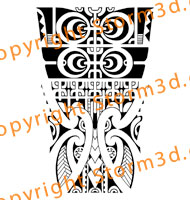 forearm-tattoos-marquesan-style-mix-maori-koru-patterns