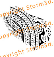 forearm-tribal-tattoo-design-marquesan