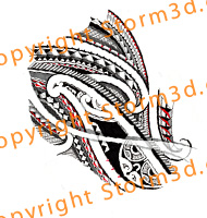 maori-lower-arm-design-tribal-drawing-by-storm3d-tatau-polynesia