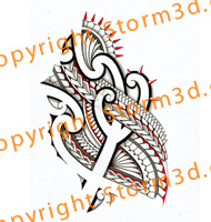 maori-tribal-tattoo-for-the-stomach-side-ribs-backpiece-symmetrical