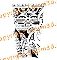 marquesan-forearm-tribal-tattoo-maori-koru