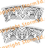 seamless-armband-designs-tribal-polynesian-tattoo-maori