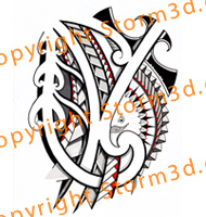 tattoo-designs-with-eagle-tribal-maori-polynesia-style