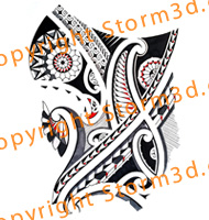 thigh-tattoo-design-tribal-polynesian-style-artist-storm3d