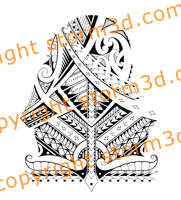 cook-tribal-samoan-maori-art-patterns