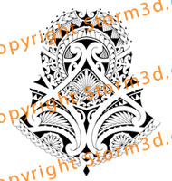 halfsleeve-tattoo-patterns-polynesian-island-maori-style
