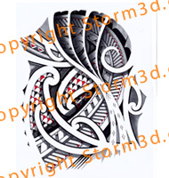 japanese-shading-tribal-tattoo-storm3d-digital-mockup