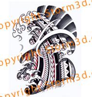 japanese-tribal-polynesian-tattoo-designs-mixed-waves