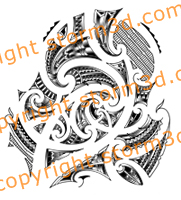 koru patterns half sleeve maori designs symbols