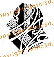 marquesas-tattoo-design-with-maori-koru-shapes