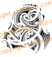 original-maori-tattoos-shoulder-flash