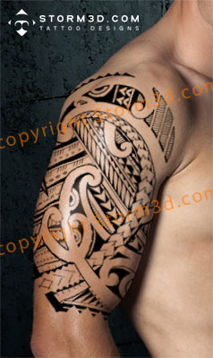 mixed tattoo design with maori and samoan patterns and symbols tribal polynesian tattoo designs. Black Bedroom Furniture Sets. Home Design Ideas