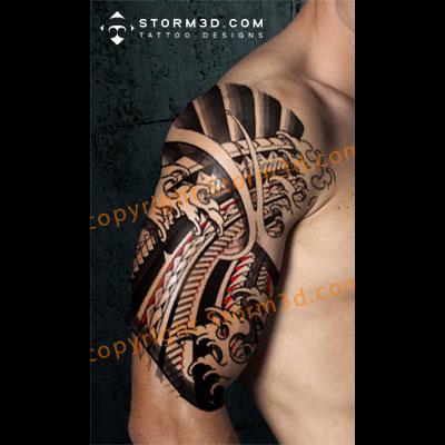 digital-mockup-tribal-japanese-design-polynesian-mix